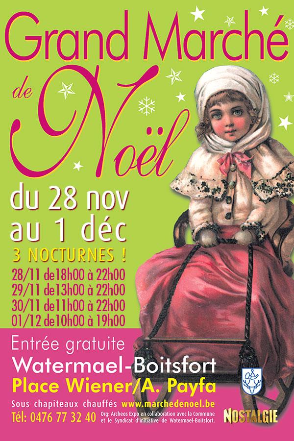 Grand Marché de Noël de Watermael-Boitsfort 2019
